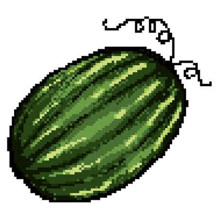 Pixelated watermeloen