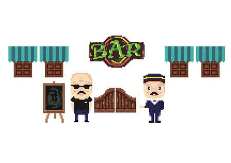 bar entrance concept