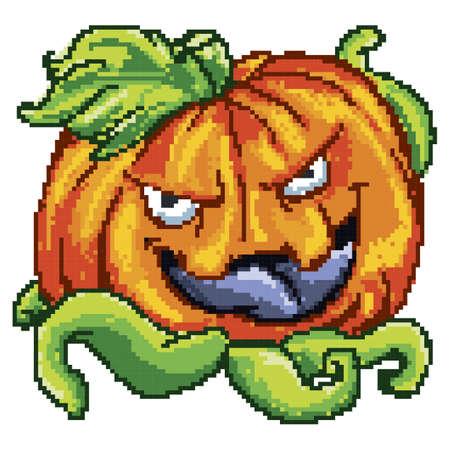 pumpkin monster Illustration