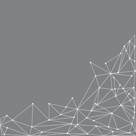 geometry background design Illustration