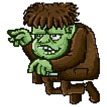 frankenstein monster Illustration