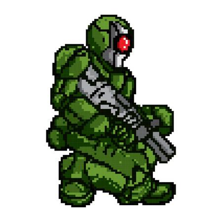 game soldier character