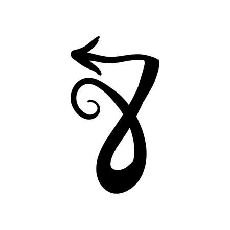 caligraphy: capricorn