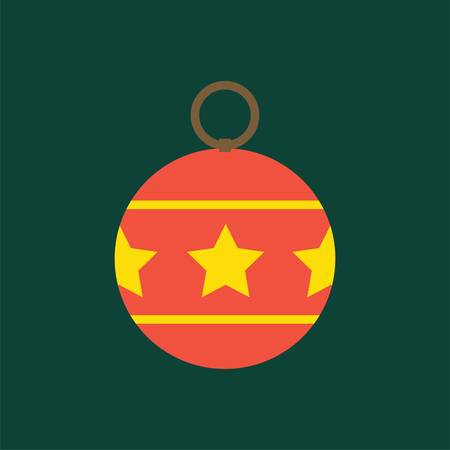christmas bauble Ilustracja