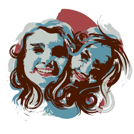gemini Иллюстрация