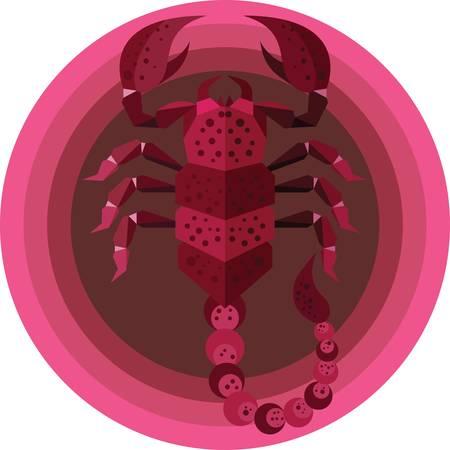 Scorpio Foto de archivo - 79214216