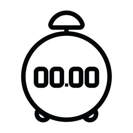 bell ringer: digital alarm clock