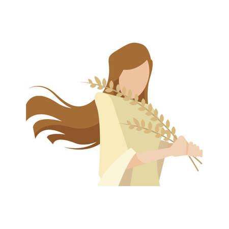 virgo Иллюстрация