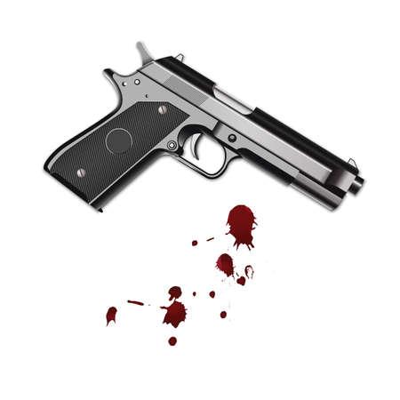 pistol Stock Vector - 79214589