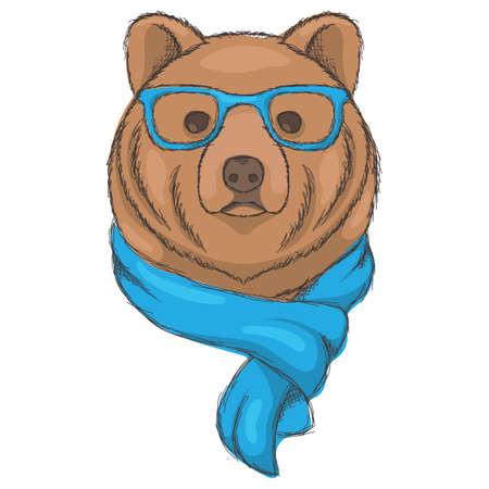 bear character Фото со стока - 79214555