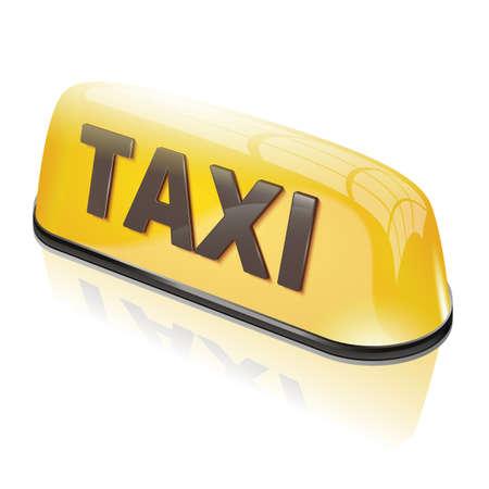 タクシー サイン  イラスト・ベクター素材