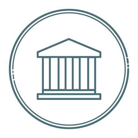 financiele instelling Stock Illustratie