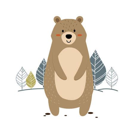 bear Illusztráció