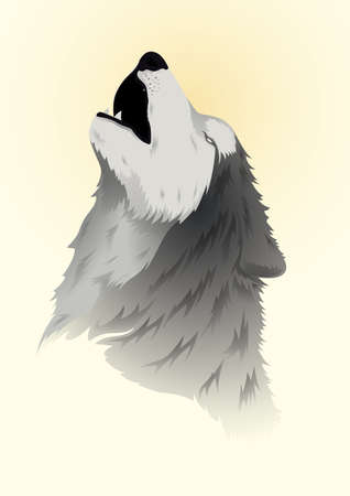 wolf howling Imagens - 79214370