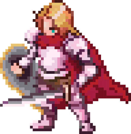 knight character Illustration