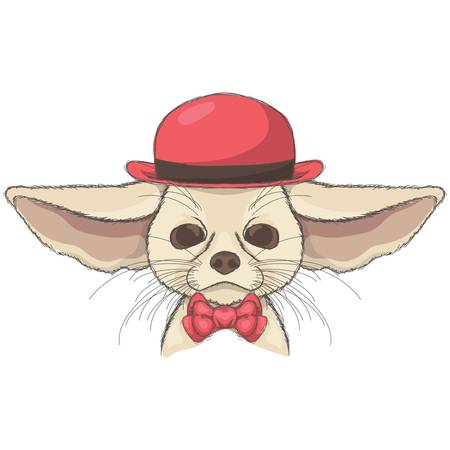 chihuahua character Illustration