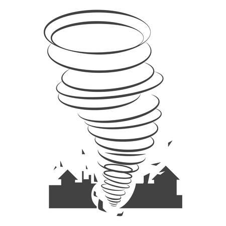 tornado 向量圖像