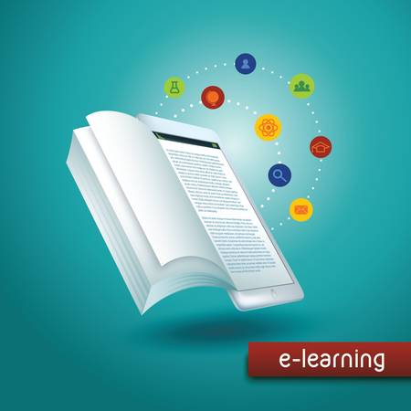 storybook: elearning concept