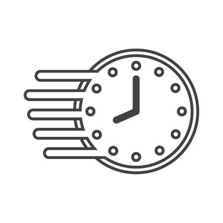 fast clock Illustration