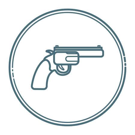 pistol Stock Vector - 79214418