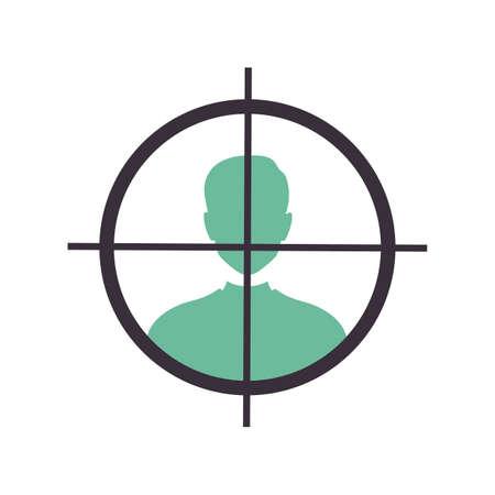 crosshair target