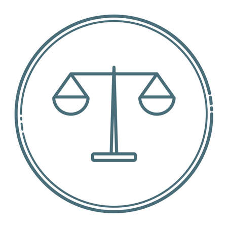 scales of justice Stock Vector - 79214430