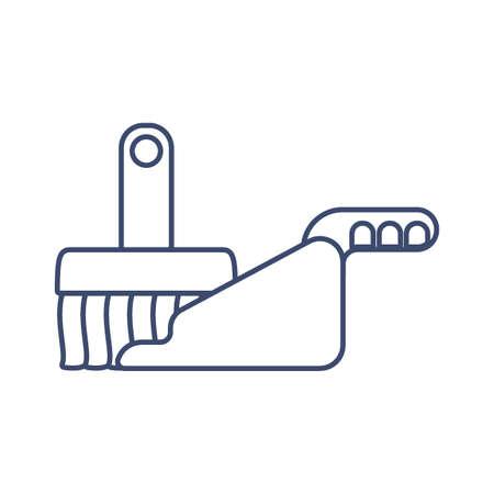 handveger met stofblik