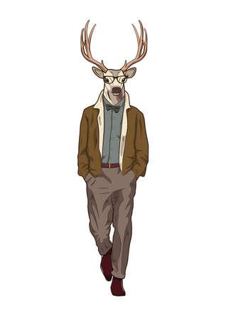 reindeer character