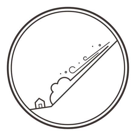 雪崩 写真素材 - 79214440