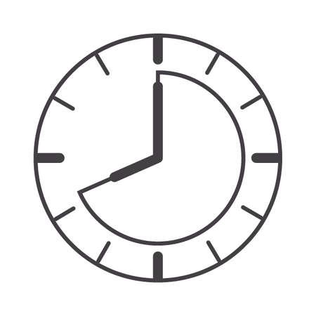 clock timer concept Stock Vector - 79214459