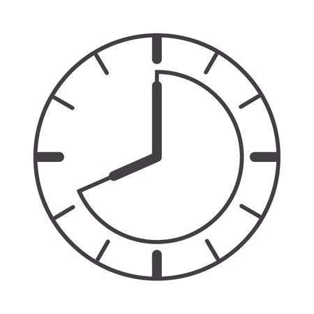 clock timer concept Illustration