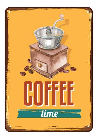 coffee design concept