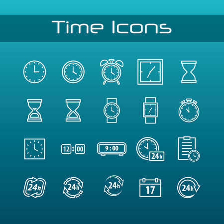 time icons pack