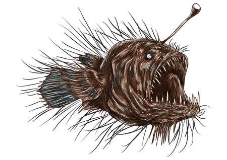 anglerfish Illusztráció