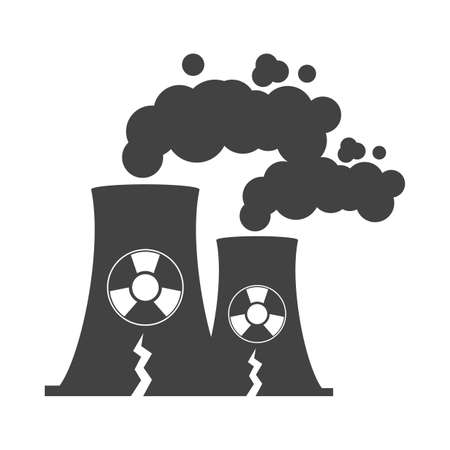 radiation smoke Illustration