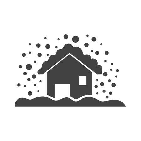 snowstorm Illustration