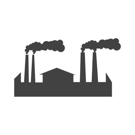 대기 오염 일러스트