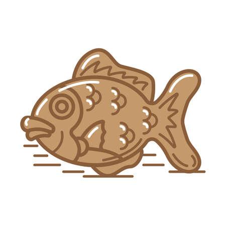 fish bread Banco de Imagens - 79132491