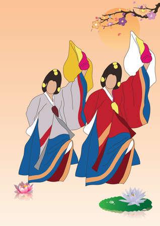 south korea traditional performance design