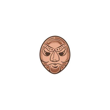 한국 전통 마스크 디자인
