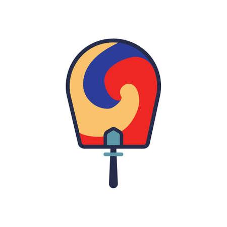airflow: south korea hand fan