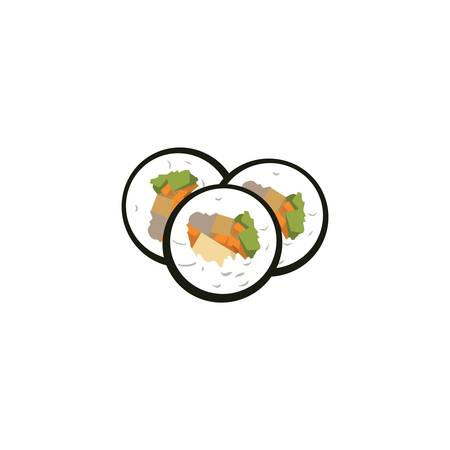 gimbap Illustration