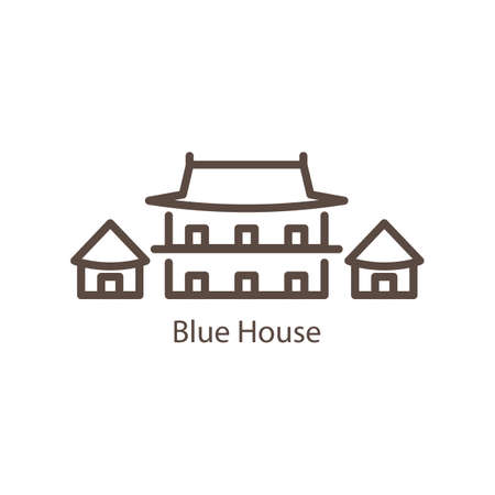 seoul blue house