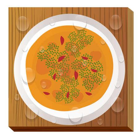 kimchi jjigae Çizim