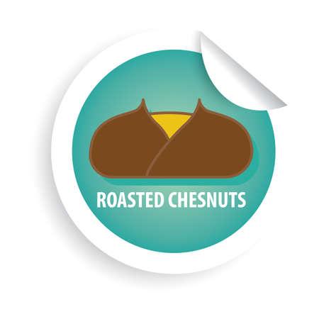 roasted chestnuts Reklamní fotografie - 79155366