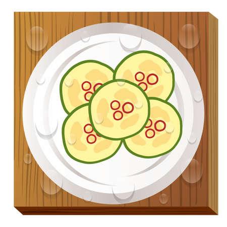 korean food Çizim