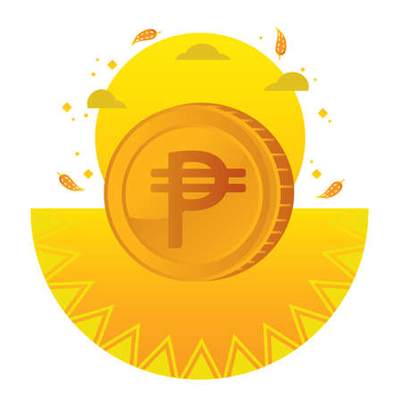 mexican peso Illustration