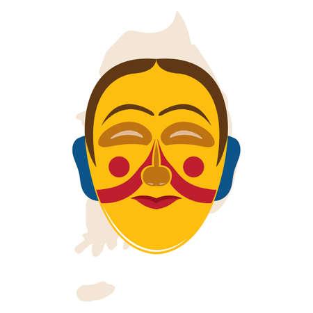 韓国の伝統的なマスク デザイン