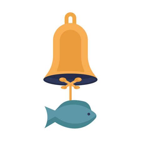 korean fish wind chime