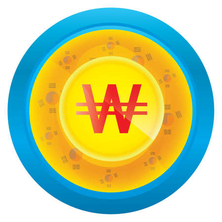 한국 원 통화 아이콘